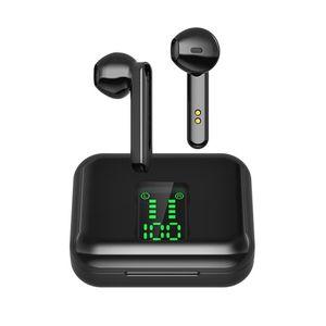 Беспроводные наушники, Bluetooth наушники, спортивная водонепроницаемая гарнитура Bass 8D, стерео игровые гарнитуры, сенсорное управление с микро...