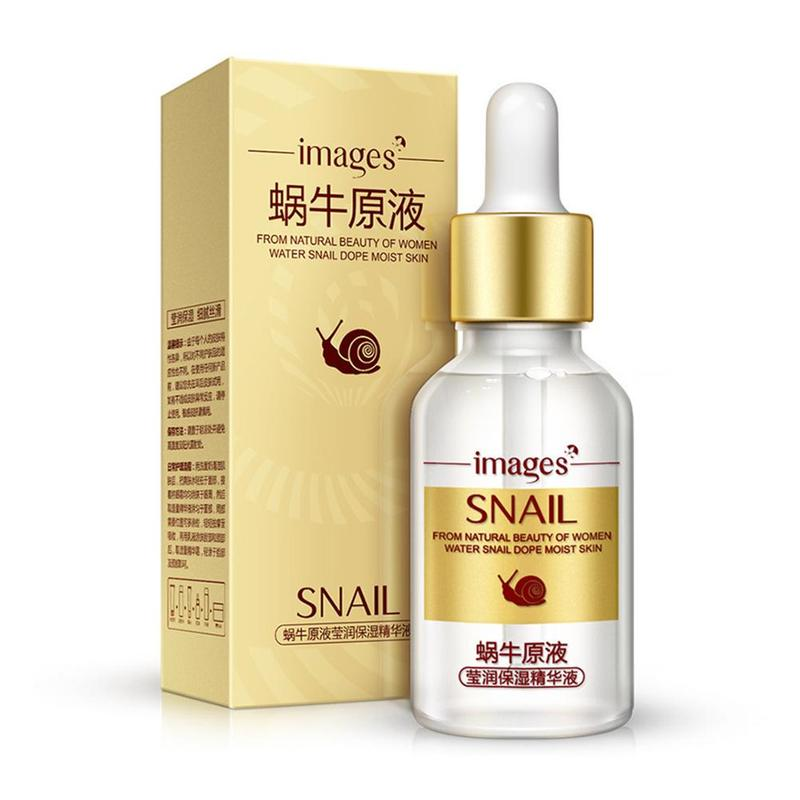 Snail Extract Serum Face Hyaluronic Acid Anti Aging Collagen Face Serum Whitening Moisturizing Skin Care
