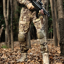Desert Python Combat Pants Men Military Clothing Trousers Knee Pads Tactical Camouflage Hunting Clothes Airsoft Multicam Pant