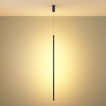 Modern Minimalist Led Pendant Lights Nordic Simple Black Line Hanging Lamp Kitchen Dining Room Bar Bedroom Suspension Luminaire