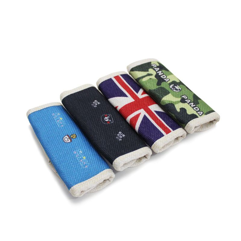 Cartoon Car Universal Cotton Linen Handbrake Sleeve Car Mounted Within Cute Decorations Protective Case Hand Automatic Transmiss