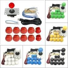 Joystick para juegos arcade en PC, botones, arcade, PS3, sanwa, sin demora, codificador, USB, botones