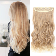 Lanyi 5 clips/piece Natural Wavy Hair Extention 20