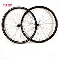 29er wheelset mtb bicycle wheels Titanium alloy spokes 27.4x23mm asymmetry tubeless DT180S boost 110x15 148x12 carbon disc wheel|Bicycle Wheel|   -