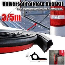 3/5m adesivo universal kit de vedação da bagageira para nissan navara np300 borracha ute poeira porta da cauda