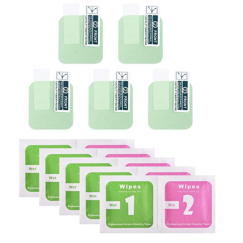 1/2/5pcs Soft Green Eye Mask TPU Anti-oil Water-proof For Xiaomi Amazfit GTS Full HD TPU Smart Movie Watch