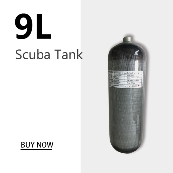 AC1090 9L CE Pcp Air Tank Scuba Diving Tank 30Mpa 4500psi Carbon Fiber Cylinder for Pcp  Air Rifle airforce Condor Acecare original 9l 95cf scuba diving air tank carbon fiber wrapped aluminum liner 4500psi high pressure composite cylinder with valve