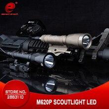 عنصر Airsoft التكتيكية ضوء surelir M620P SF بندقية كشاف ضوء الصيد مصباح surelir بندقية بندقية سلاح ضوء EX363