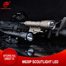 Element Airsoft Tactical Light Surefir M620P SF Gun Scout Light Hunting Lamp Surefir Rifle Gun Weapon Light EX363
