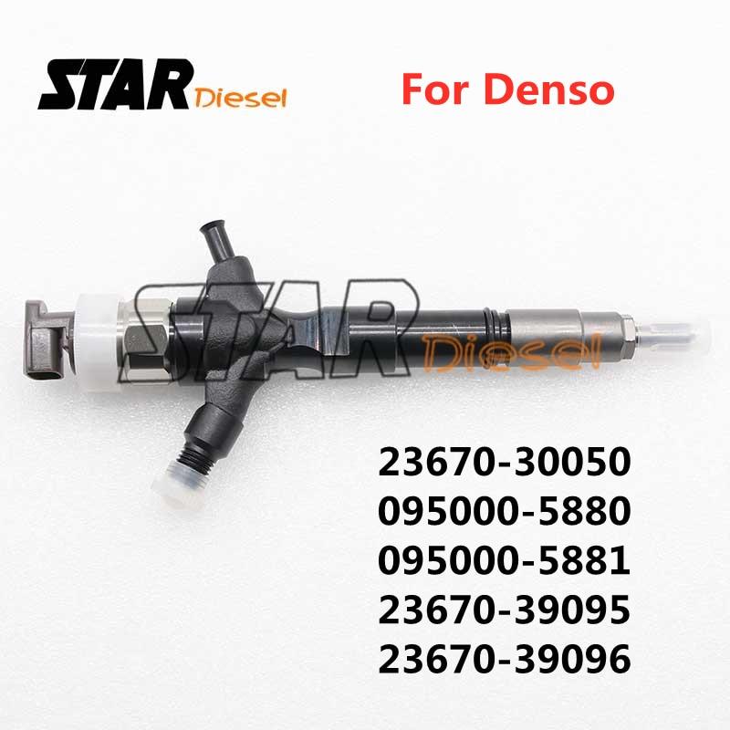 Форсунка форсунки топливного форсунки STAR Diesel Common Rail 23670-30050 095000-5880 095000-5881 23670-39095 23670-39096 для Denso 1KD