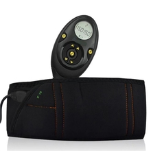 Muscle-Stimulator Waistband Slimming EMS Male 150-Intensity Retail-Box Elastic Rechargeable