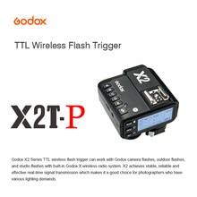 Godox X2T-P TTL HSS 2,4G Bluetooth передатчик с пусковым устройством для фотообъектива Pentax студийная стробоскопическая вспышка Speedlite Huawe xiaomi iPhone
