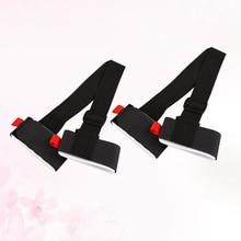 Tie Carrier-Straps Snowboard-Shoulder 2pcs Hand-Handle Binding-Protection Adjustable