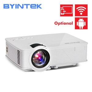 Image 1 - BYINTEK SKY BT140 Mini LED przenośny projektor hd do kina domowego
