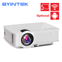 BYINTEK gökyüzü BT140 Mini LED taşınabilir Video HD projektör ev sineması için