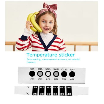 Portable Soft Head Electronic Thermometer Digital Lcd Fever Thermometer Strip Mercury Glass Child Body Temperature Gauge 1 Piece image