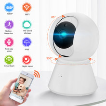 Baby Monitor 1080P Home Security IP Camera Wireless Home Monitor WiFi Security Camera Detection Night Vision Sound Motion 2-Way(China)