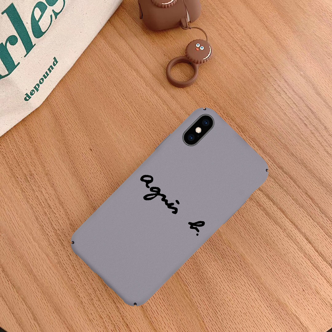 Jamular Fashion Agne Matte Hard PC Back Case Cover for IPhone XS XR MAX 6 6s 7 7 Plus 8 8plus X Luxury Phone Coque