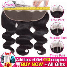 1-2-5 Pieces/Lot Malaysia Body Wave Hair 13x4 Lace Frontal Free Middle Three Part Medium Brown Lace Remy Human Hair Bulk Sale
