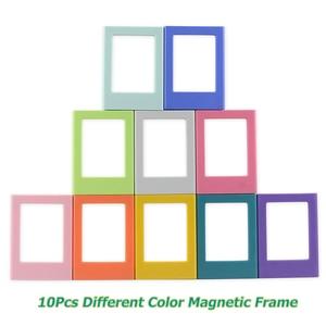 Image 2 - 10 шт. разных цветов Fujifilm Instax Mini 8 7S 25 50 70 90 liplay link мгновенная фотография 3 дюйма Магнитная Рамка
