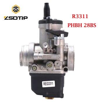 ZSDTRP-carburador Dellorto, PHBH 28BS 4T R3311 para VESPA/KART ARIA, Manual, motores universales
