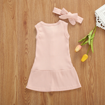 pink cotton sundress