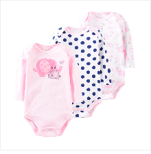 Hb3723e94bb2549959011decc20314c26W Baby Girl Romper Newborn Sleepsuit Flower Baby Rompers 2019 Infant Baby Clothes Long Sleeve Newborn Jumpsuits Baby Boy Pajamas