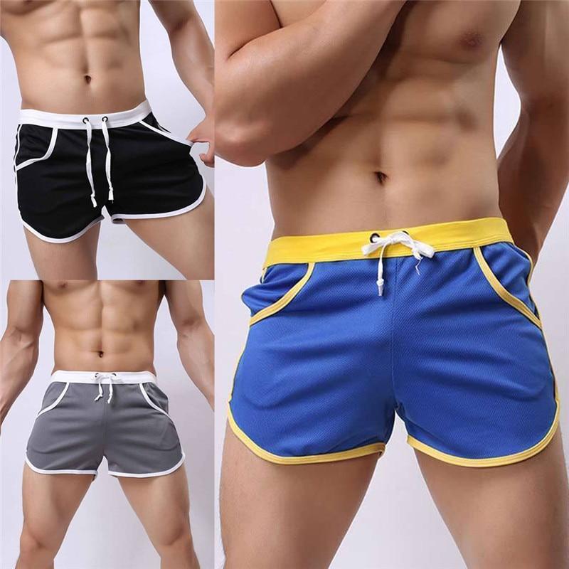 New Men Summer Swim Shorts Swimwear Swimming Trunks Underwear Boxer Briefs Shorts