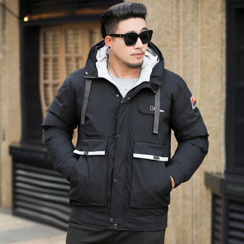 Big Plus Size 10XL  Brand New Winter Jacket For Men, Windproof Quality Quilted Cotton Coat, Soft And Thick Brand Clothing Parkas
