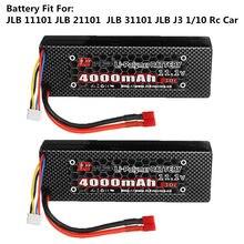 JLB – batterie Lipo 3S, 11.1V, 4000mAh, 30c, pour voiture de course JLB série 11101, 21101, 31101, 1/10, pièce de rechange
