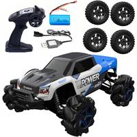 RB1277A 1/12 2.4G 4WD 35km/h Mecanum Wheel RC Car Electric Drift Vehicle Full Proportional RTR Model with 4 Tires