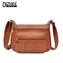 DIZHIGE Brand Luxury PU Women Shoulder Bags High Quality Crossbody Bag For Multi-pocket Thread Female Messenger New