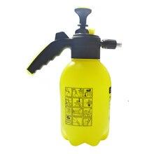 Pulverizador de espuma para nieve presurizado manual, boquilla de espuma de cañón, bomba de mano, rociador de espuma, botella de 2L, limpieza de ventanas de lavado de coche