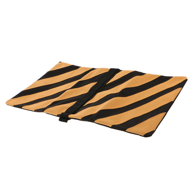 5kg Capacity Boom Arm Tripod Sand Bags Durable Canvas Heavy Duty Sandbags Orange & Black for Photography
