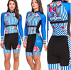 2020 pro equipe triathlon terno feminino camisa de ciclismo skinsuit macacão maillot ciclismo ropa ciclismo conjunto manga longa almofada gel 024 19