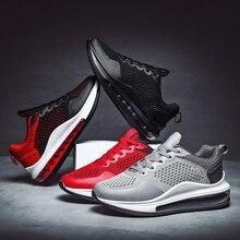 Hot Sale Men Casual Shoes Breathable Lightweight Sneakers Women Air Cushion Runn