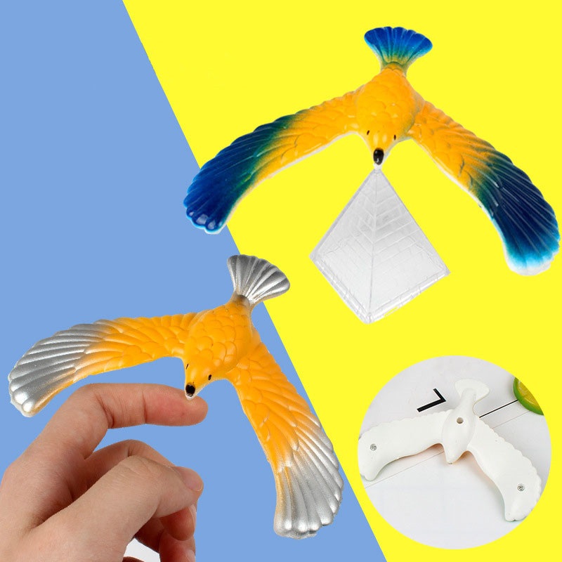 Novelty Amazing Balance Eagle Bird Toy Magic Maintain Balance Home Office Fun Learning Gag Toy For Children Kid Best Gift