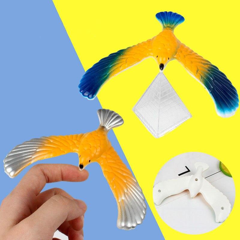 Novidade incrível equilíbrio águia pássaro brinquedo magia manter equilíbrio escritório em casa diversão aprendizagem mordaça brinquedo para crianças miúdo melhor presente