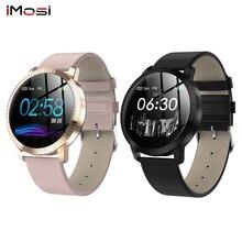 CF18 חכם שעון גברים IP67 נשים חכם שעונים עבור זוג Bluetooth תזכורת כושר צמיד בריאות Tracker