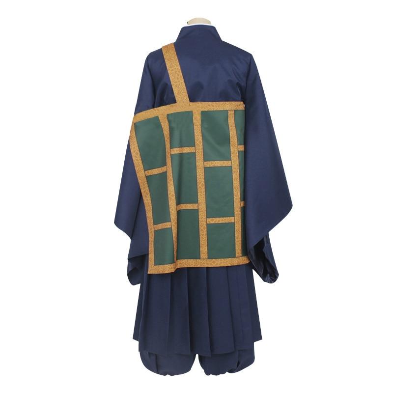 Details about  /Jujutsu Kaisen Getou Suguru Blue Outfits Cosplay Costume Halloween