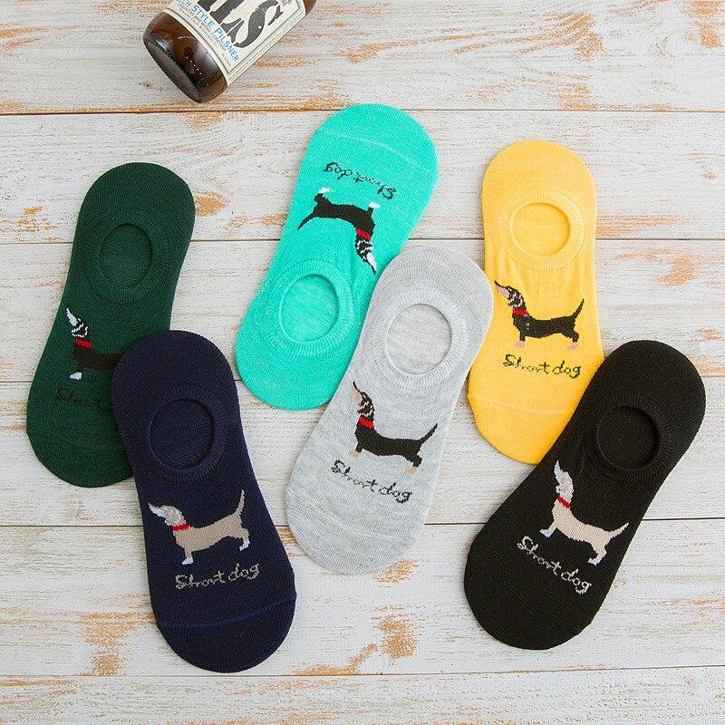 Summer Spring Cartoon Puppy Funny Socks Fashion Women's Socks Casual Classic Brand All-Match  Socket Cotton Sock