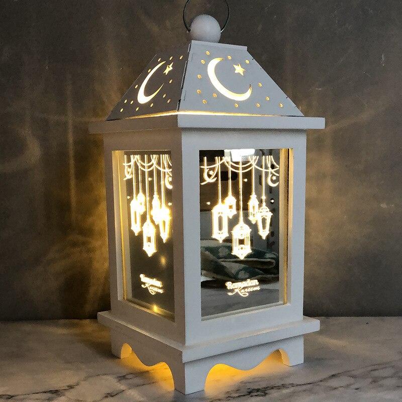 New LED Lights Ramadan Decoration Happy Eid Mubarak Decor For Home Eid Mubarak Gift For Ramadan Et Eid Decorations Islam Kareem