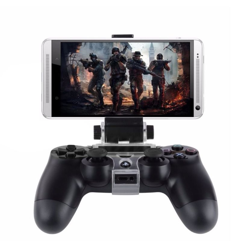 PS4 AccessoriesCell  Phone Clip Clamp Stand Bracket for4/Slim/Pro Dualshock 4 Controller Holder Joystick PS4 Mount