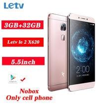 Letv – smartphone LeEco Le 2, téléphone portable, 3 go de ram, 32 go de rom, écran 1920x1080 de 16 mpx, connectivité LTE, empreintes digitales, PK X620, Qualcomm 652