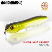 Hunthouse Trairao Potlood Lure Top Water Snakehead Lokken 130Mm 32G Grote Rammelaar Bal Lawaai Oorsprong Haak Voor bass Pike