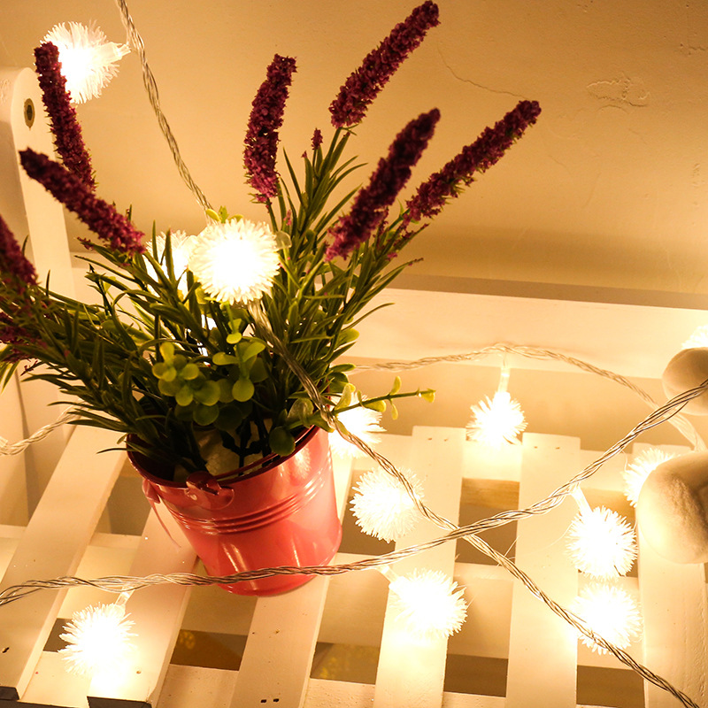 casamento festão led luz para decoração de natal