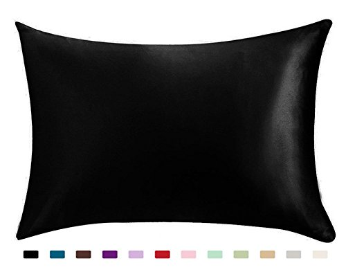 100 Silky Satin Hair Beauty Pillowcase Standard Queen 1PC