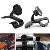 Creative Phone Accessories 360-degree Rotatable Magnetic Dashboard Phone Mount HUD-Design Car Phone Bracket for GPS Phones CSV