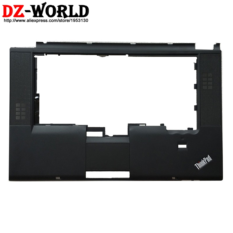 New palmrest Upper Case keyboard bezel With fingerprint hole for Lenovo Thinkpad T520 T520i W520 Laptop C Cover 04W1369 04W6732 image
