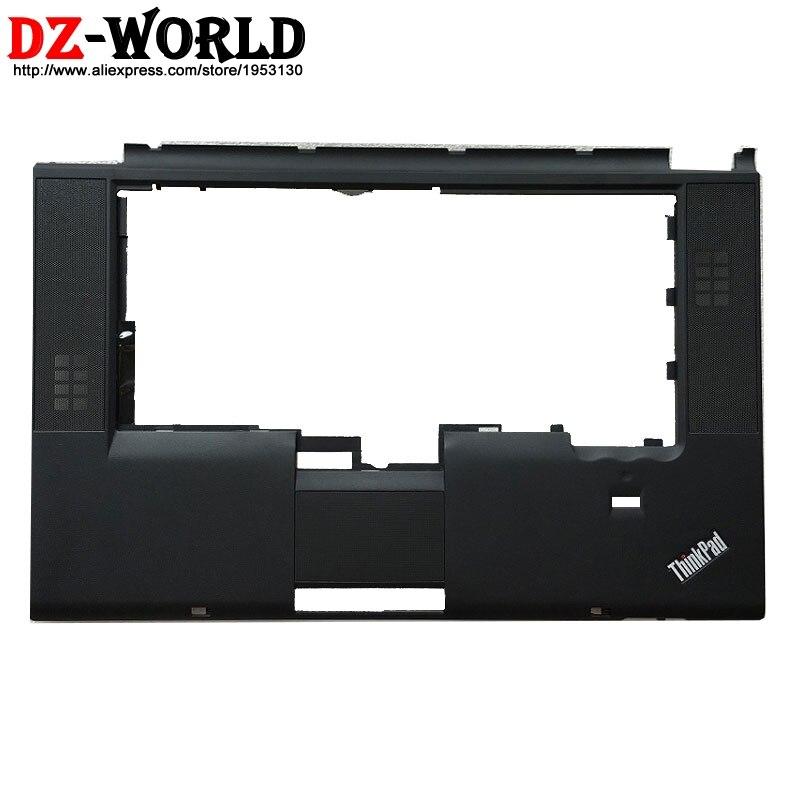 New Palmrest Upper Case Keyboard Bezel With Fingerprint Hole For Lenovo Thinkpad T520 T520i W520 Laptop C Cover 04W1369 04W6732